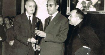 El Alcalde cofrade Francisco García Grana