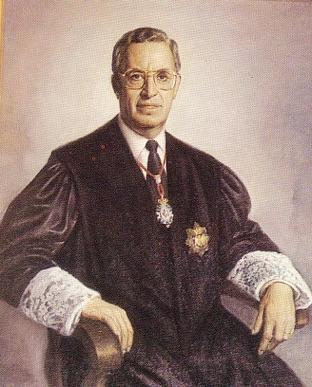 Francisco García Grana como decano del Ilustre Colegio de Abogados de Málaga