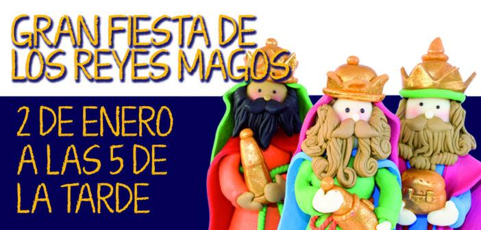 Gran fiesta de los Reyes Magos